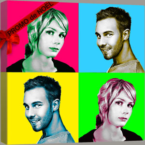 Promo Pop Art sur le style PopColor