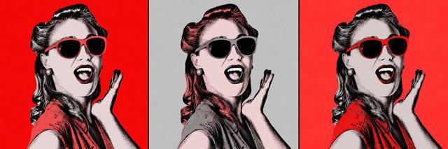 Créez un portrait Pop Art pour renouveler votre décoration !