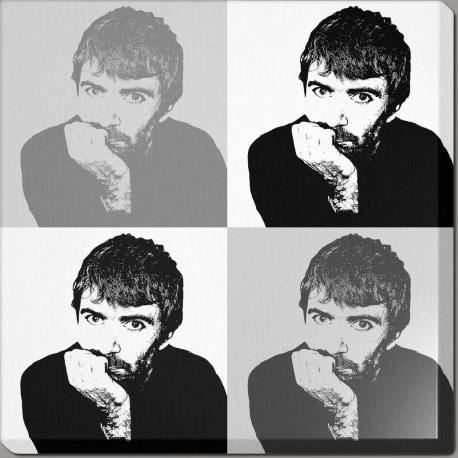 Pop art noir et blanc graphik4k