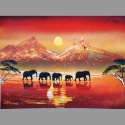 Elephants B02 30x40cm